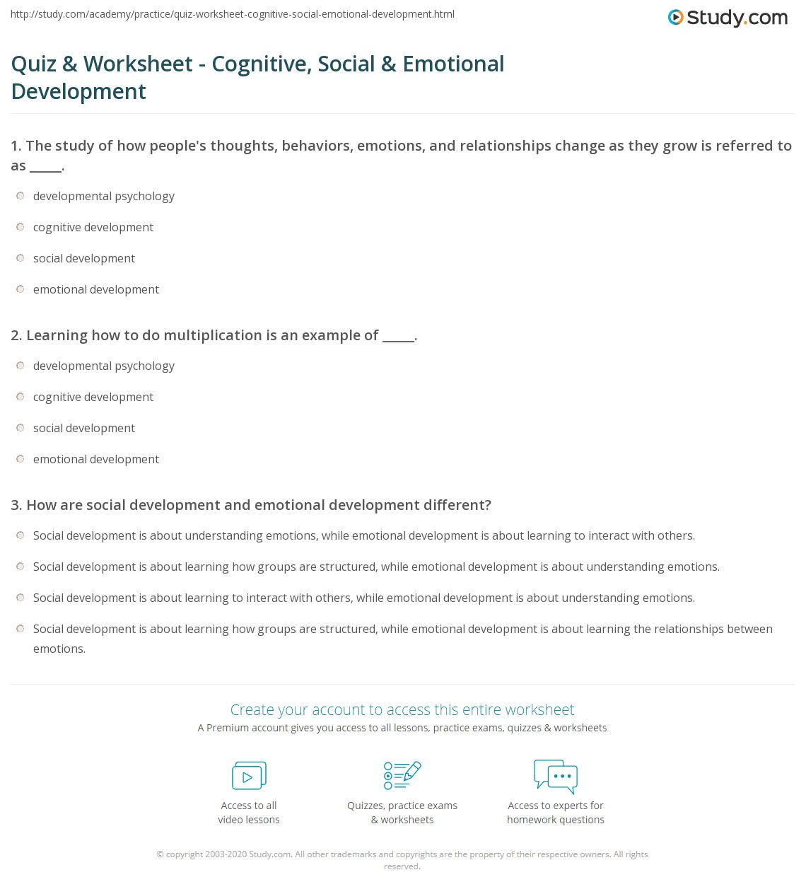Worksheets Social Thinking Worksheets