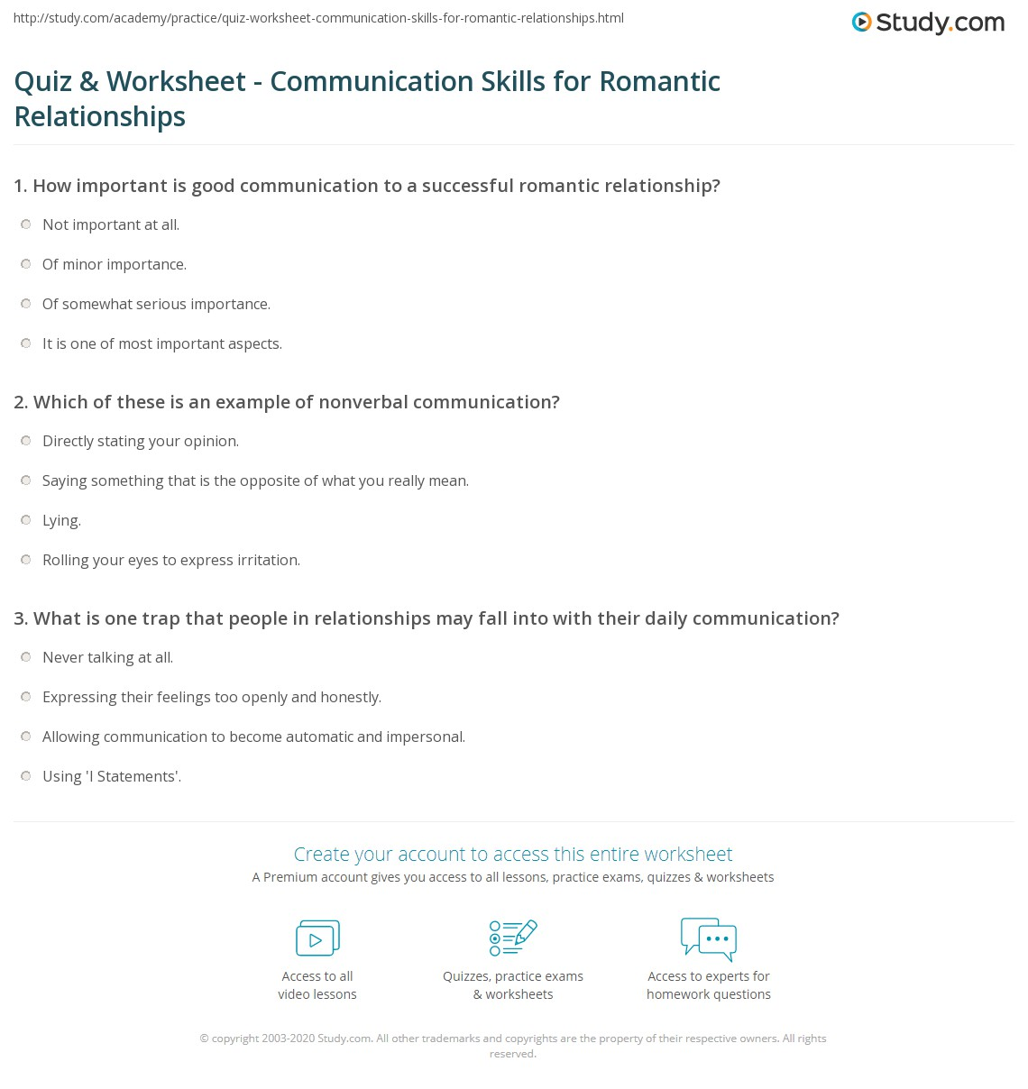 Worksheet Effective Communication Worksheets Adults