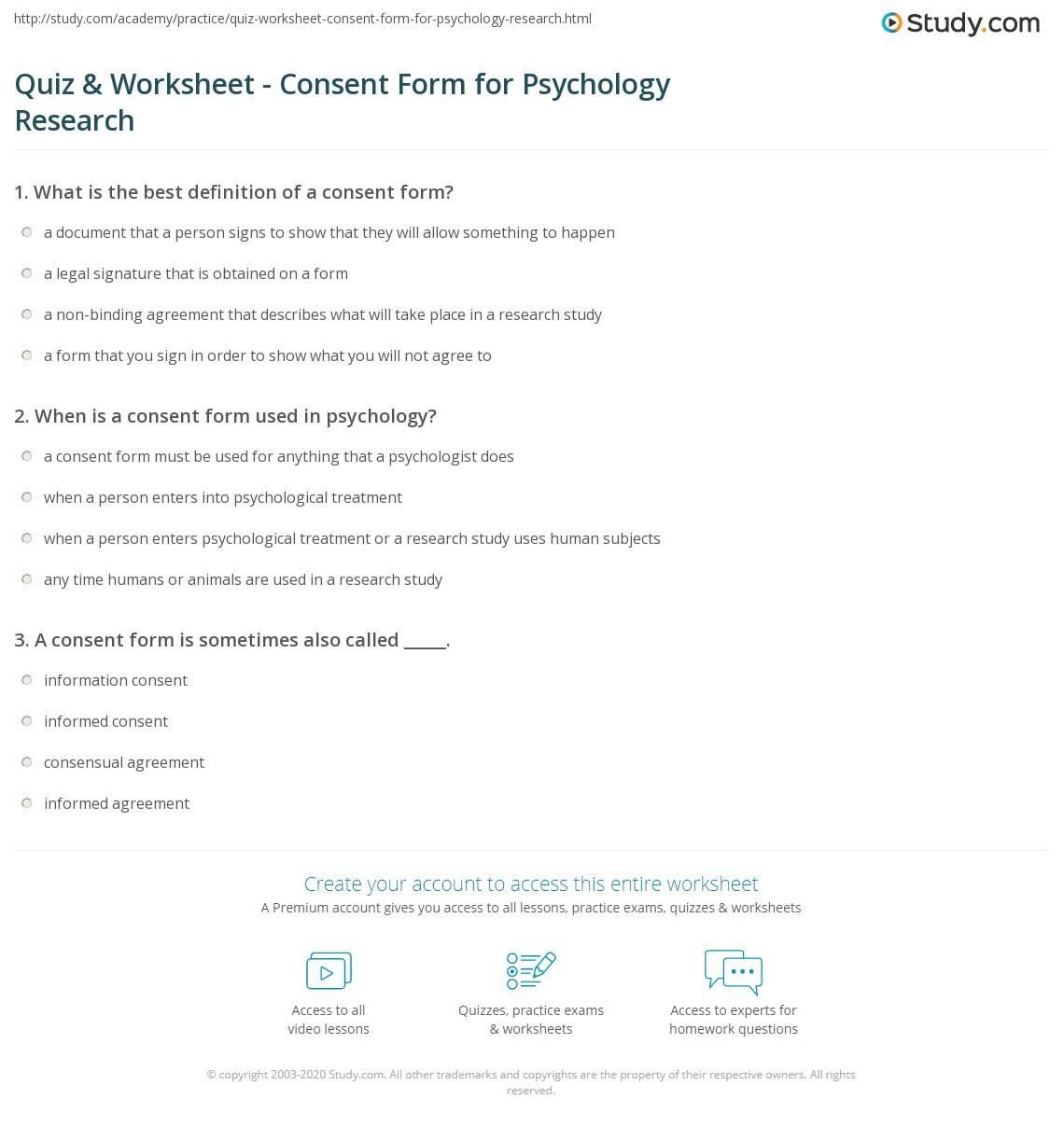 Owning Behavior Worksheet