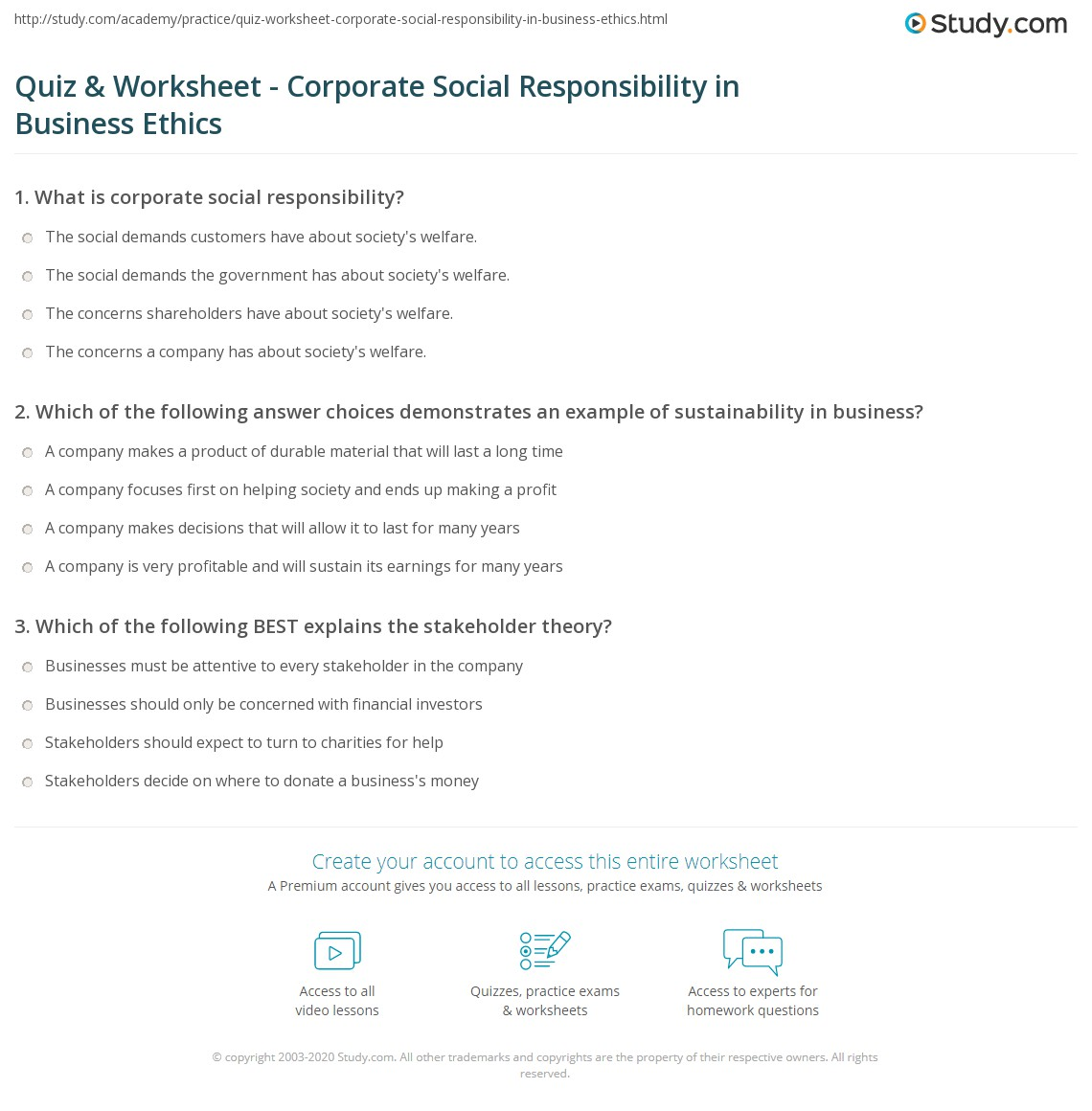 Responsibility Worksheets Worksheets Tutsstar Thousands Of Printable Activities
