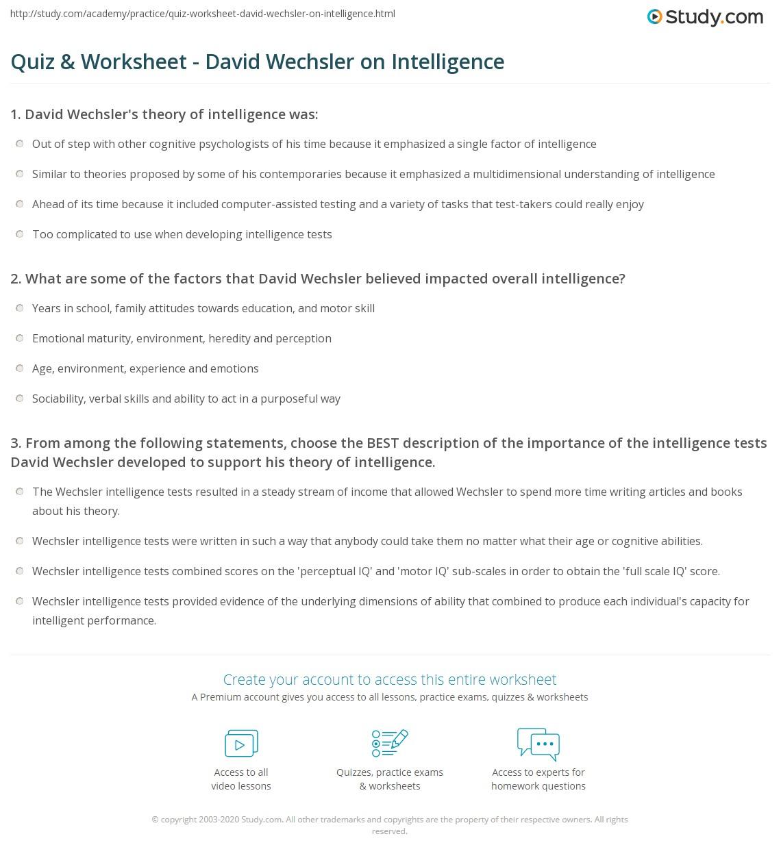 Emotional Intelligence Free Emotional Intelligence Test