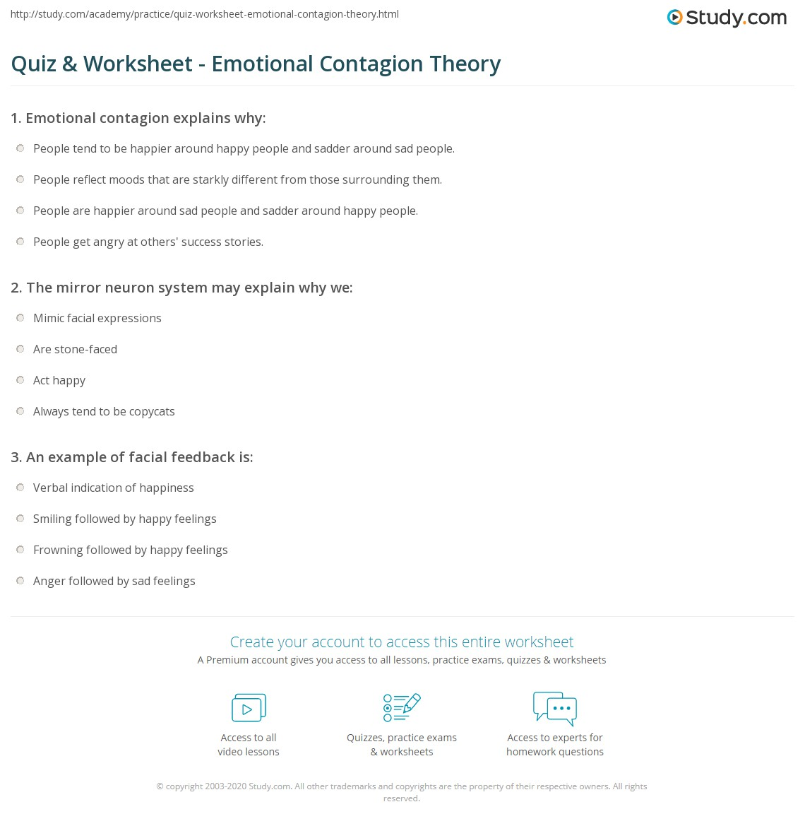 Contagion Worksheet Answers