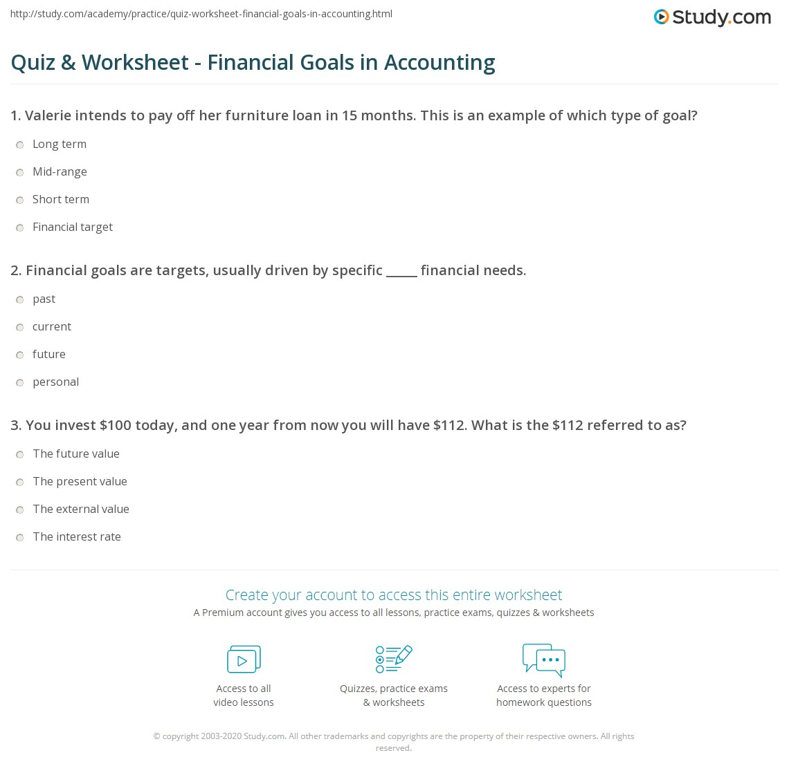Example Of Accounting Worksheet