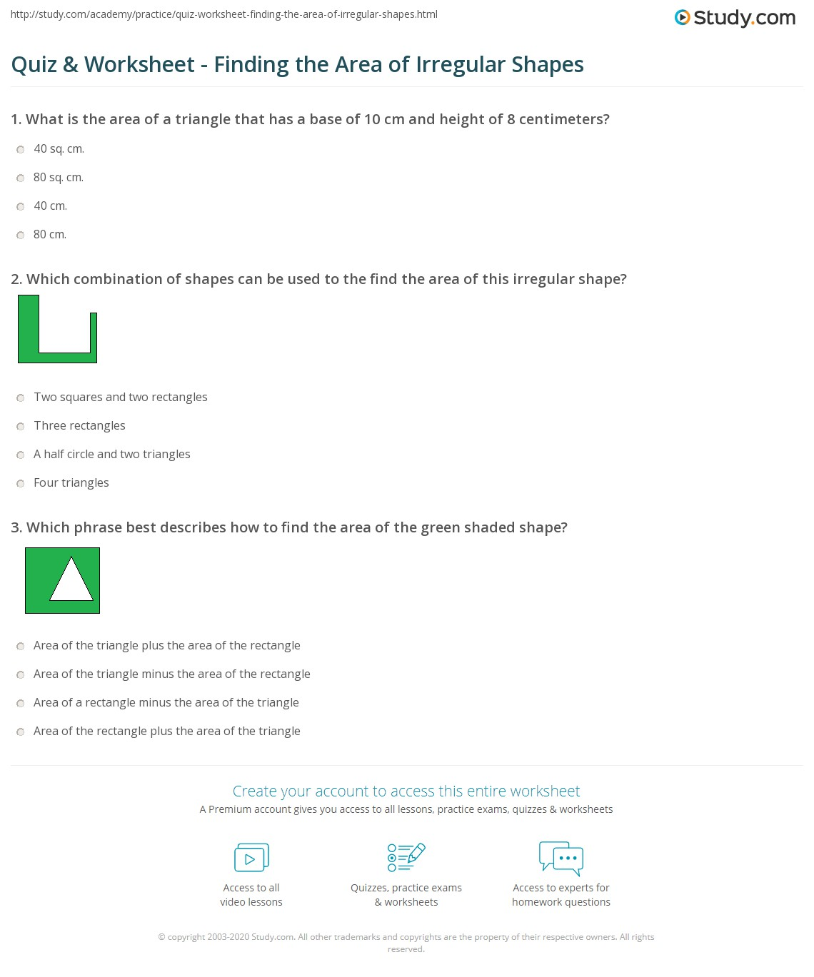 Worksheet Area Of Irregular Shapes Worksheets Worksheet Fun Worksheet Study Site