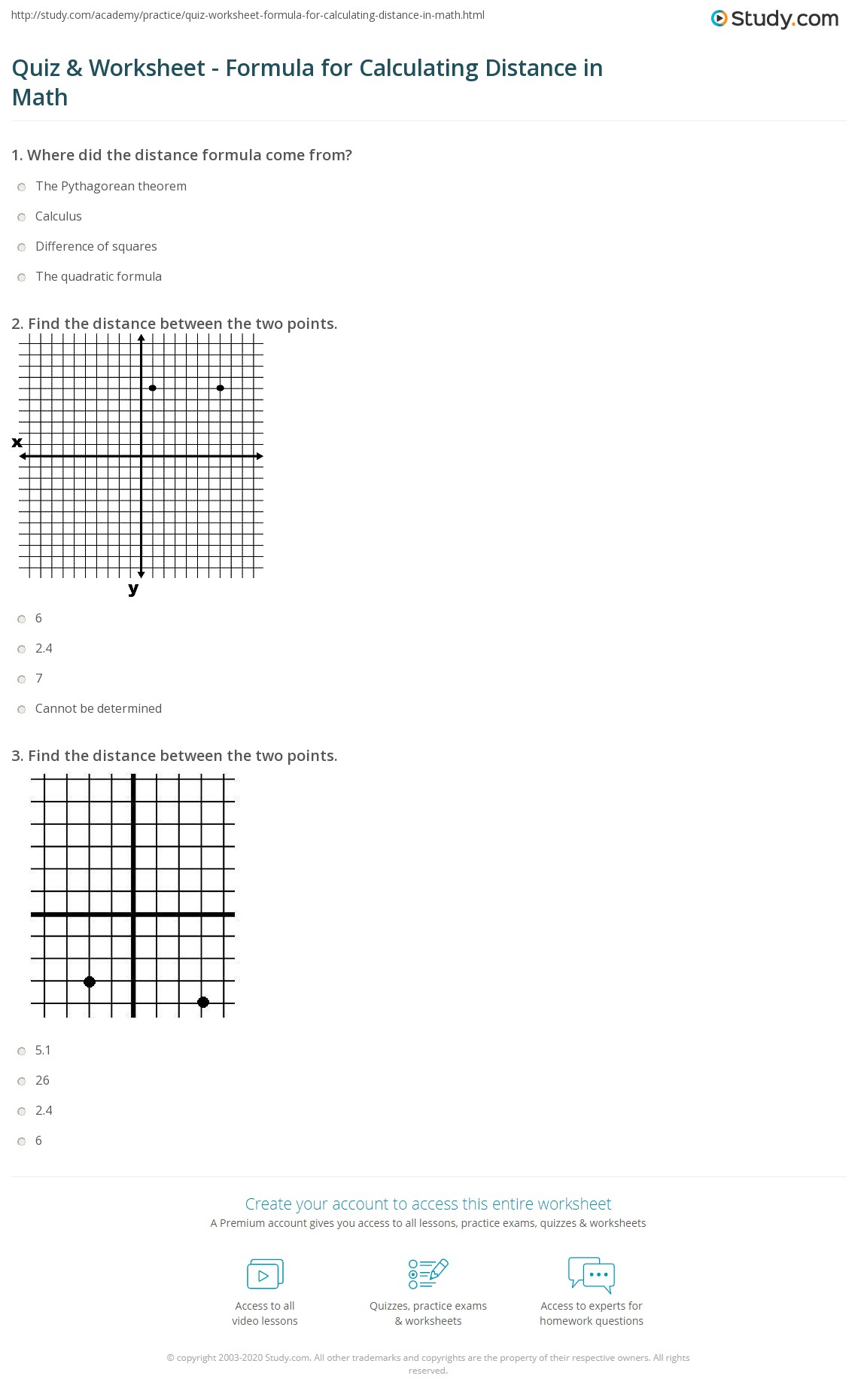 Midpoint Worksheet Geometry