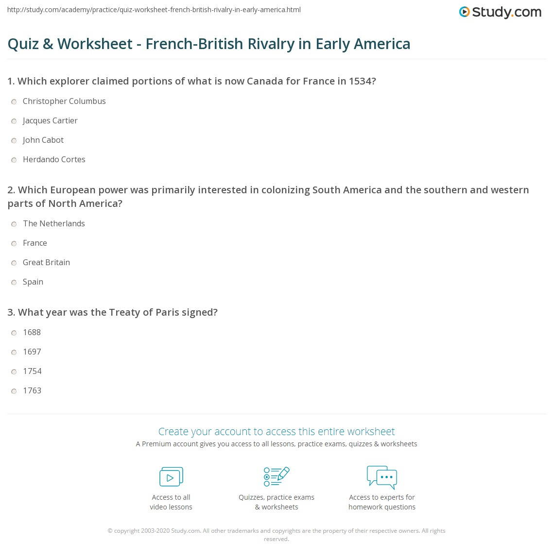 Exploring The Americas Worksheet Answers