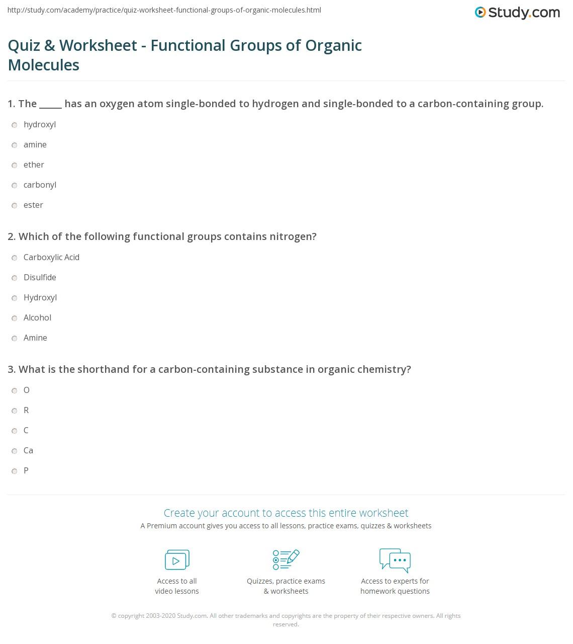 Nastiik Functional Groups With Multiple Bonds To Heteroatoms