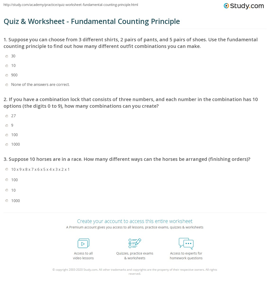 Worksheet K2 Review Problems Answers