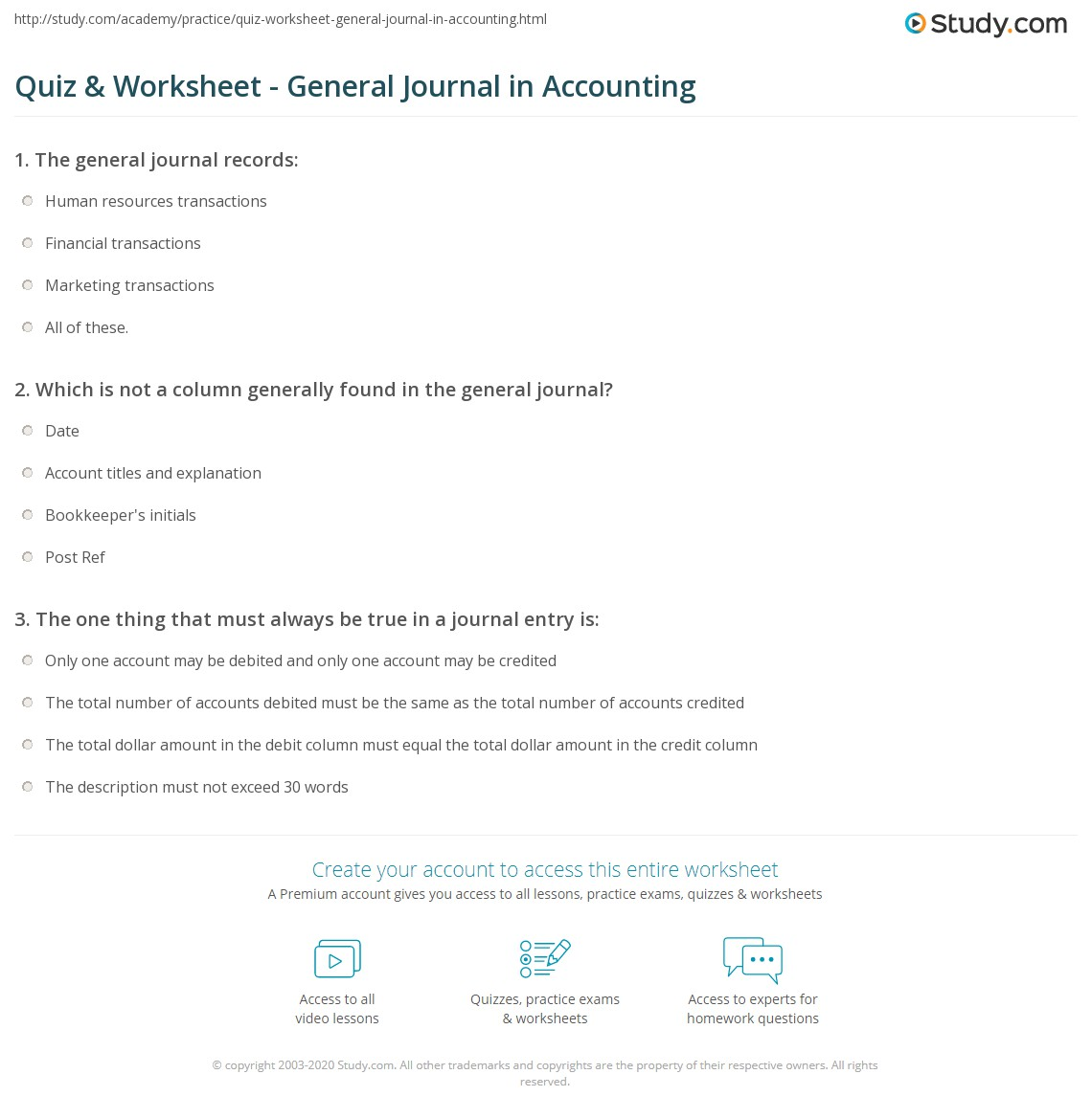What Is The Accounting Equation Quizlet