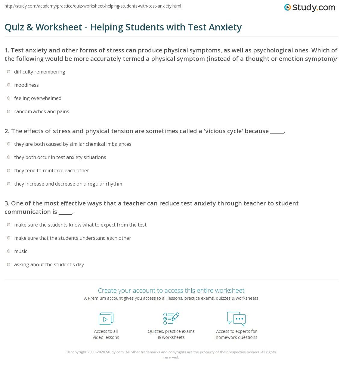 Worksheet Anxiety Worksheets For Kids Worksheet Fun