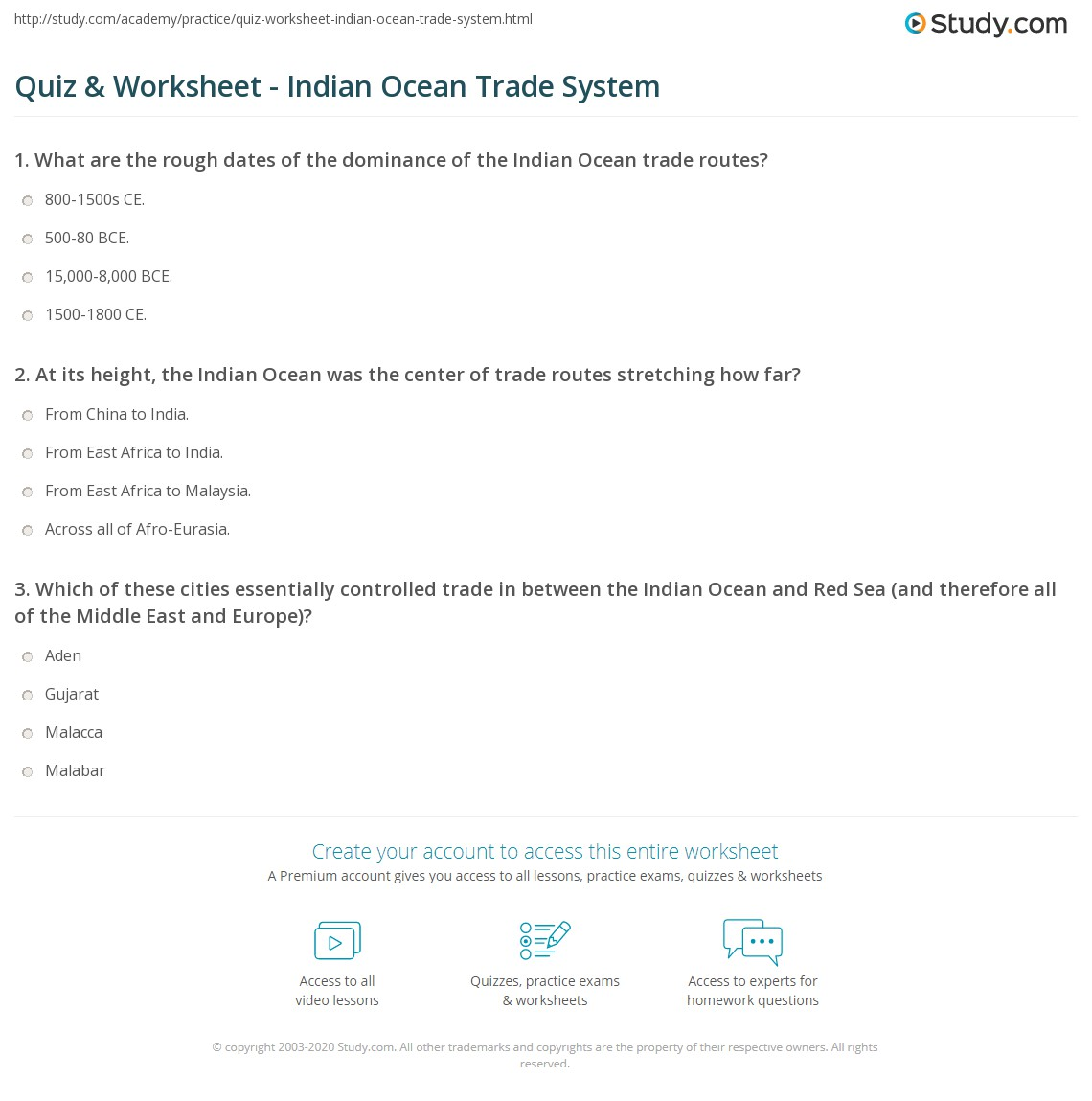 Oceans And Seas Of The World Worksheet Answers