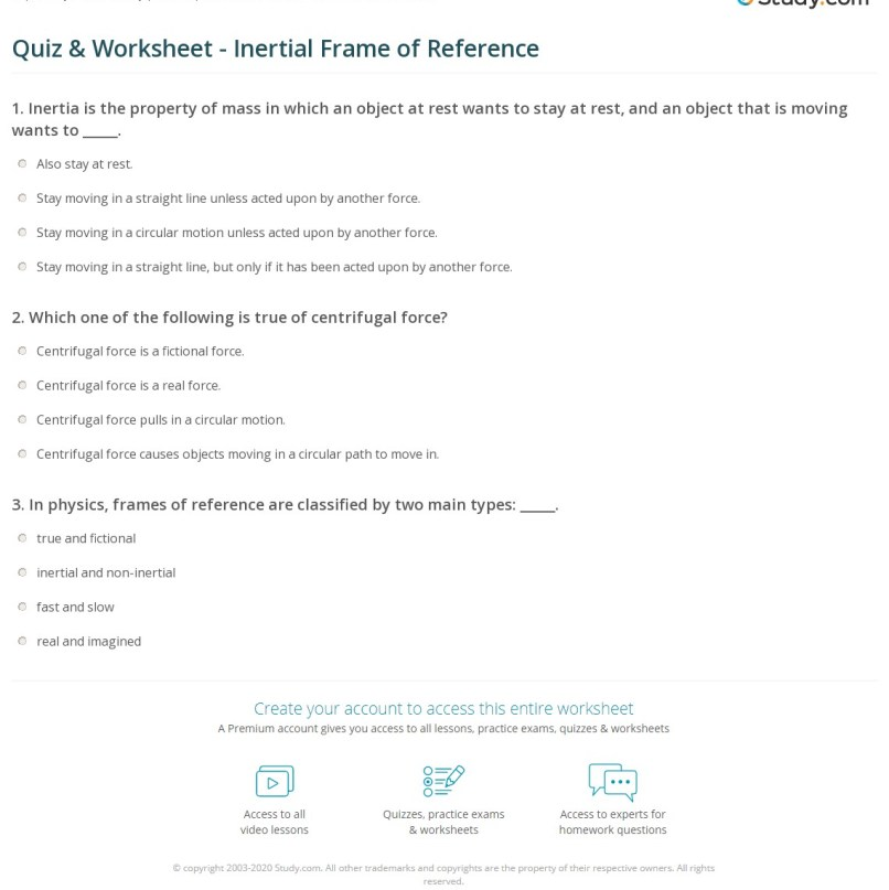 Meaning Of Inertial Frame Reference In Physics | Frameswalls.org