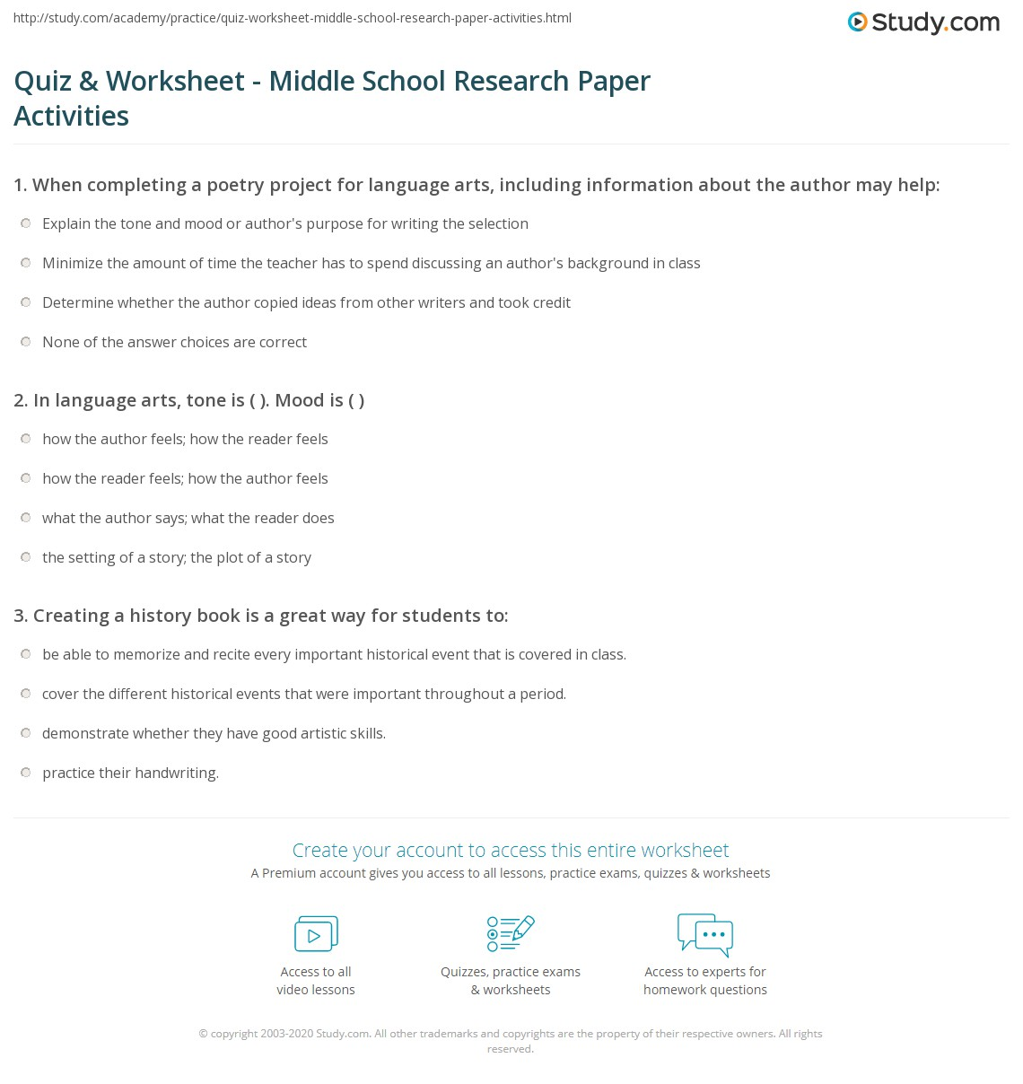 School Papers To Print Out