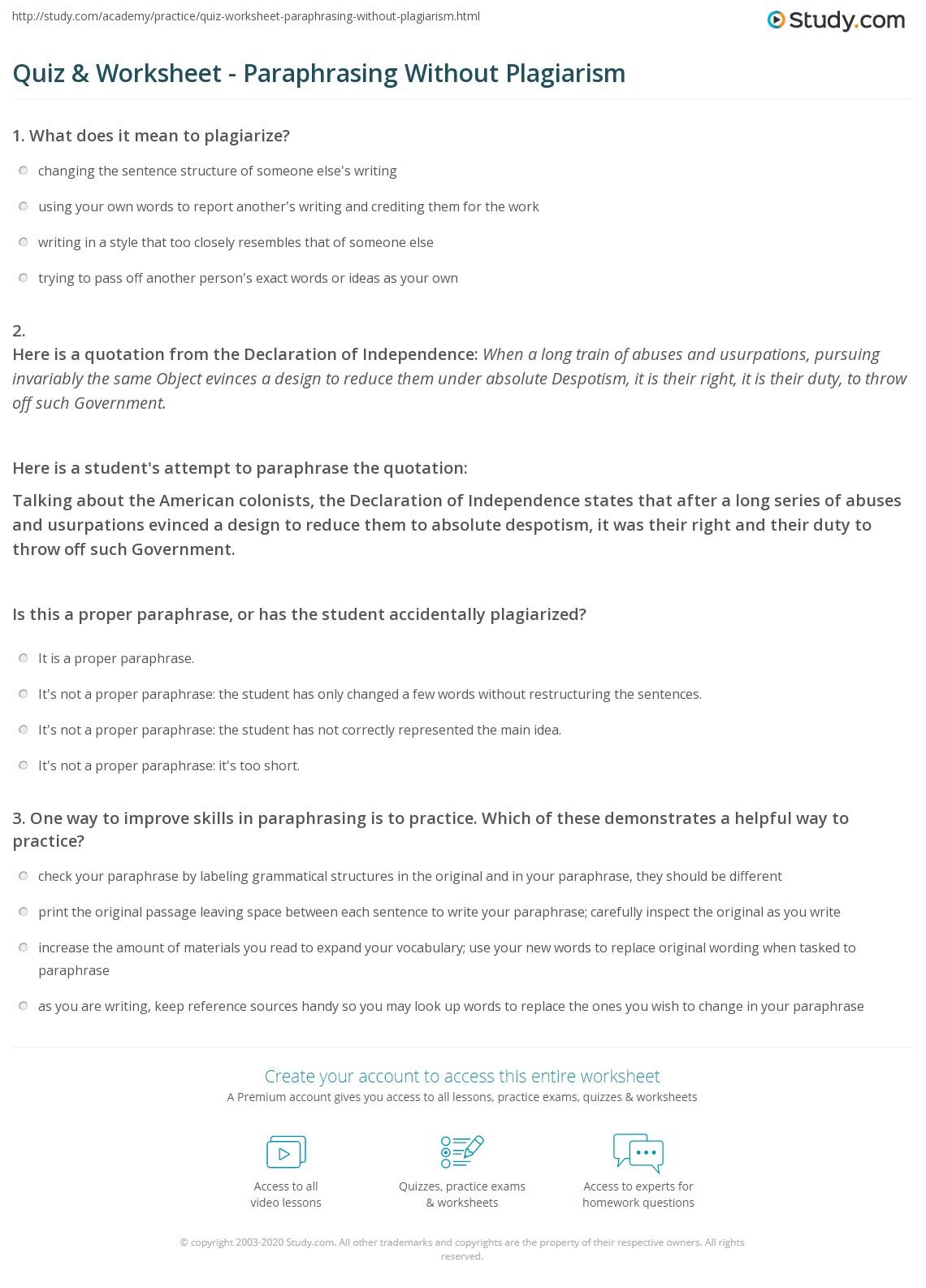 Worksheet Declaration Of Independence Worksheet Grass