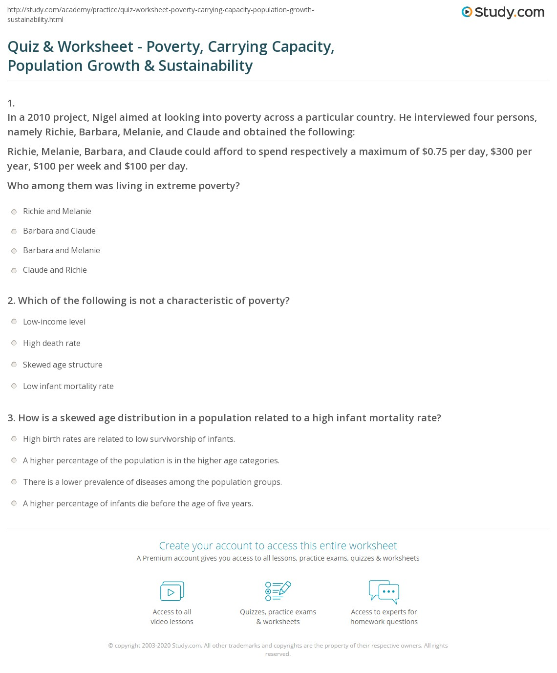 34 Human Population Growth Worksheet Answer
