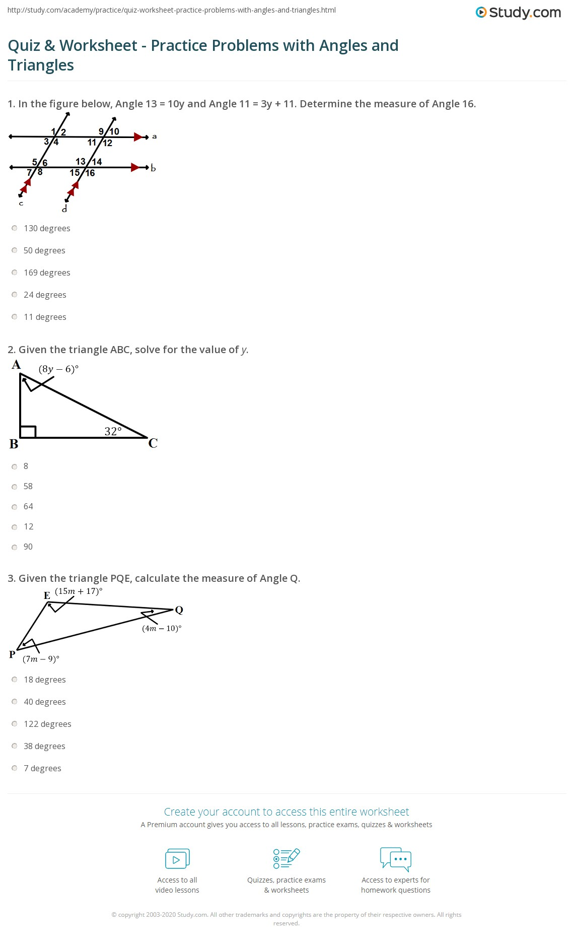 Missing Angles In A Triangle Worksheet Ks2