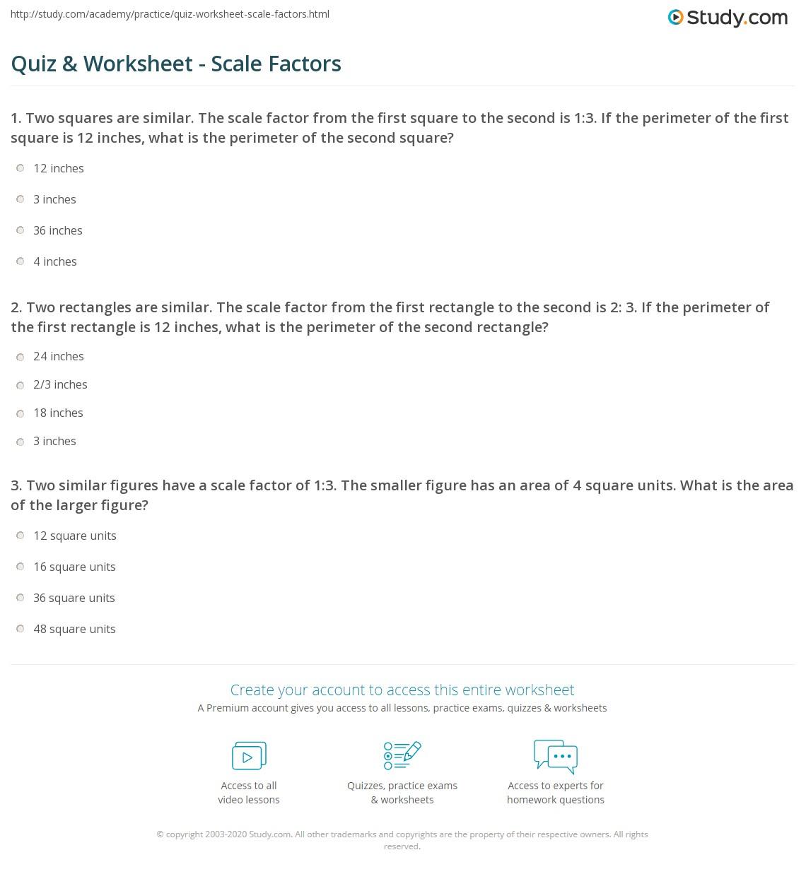 Quiz W Ksheet Sc Le F Ct S Study