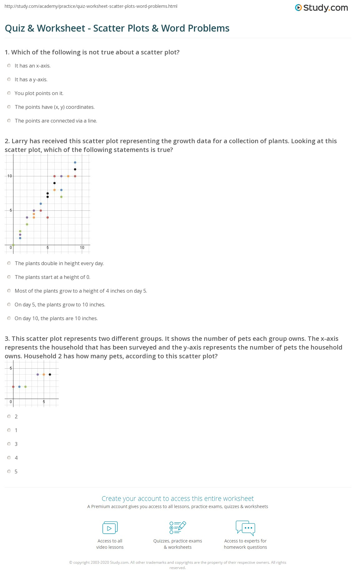 Lesson 7 9 Problem Solving Scatter Plots
