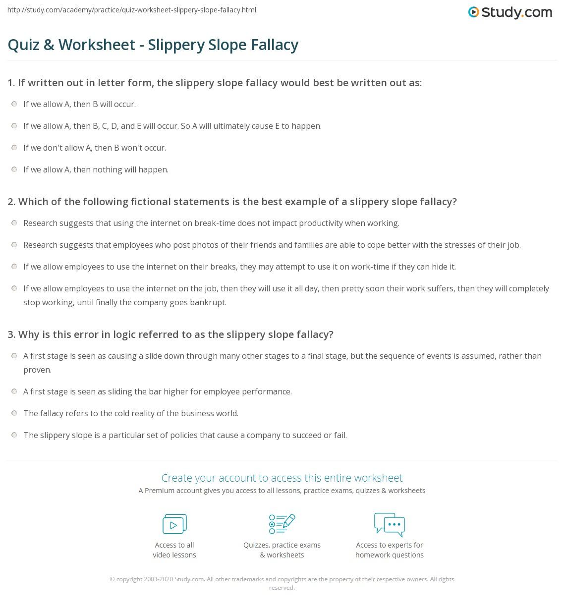 Slope Quiz Worksheet Photos