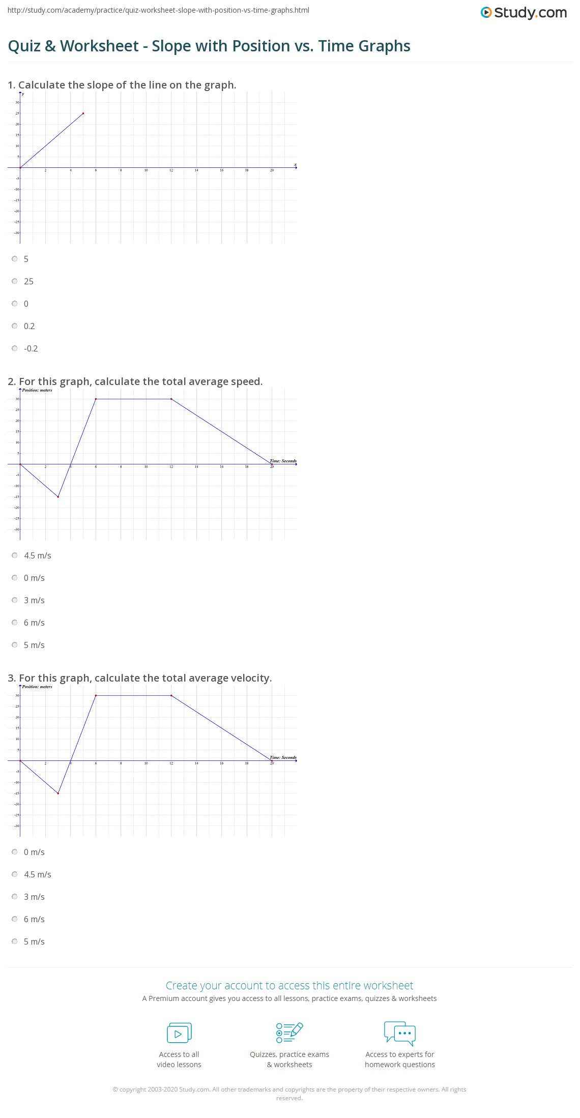 Worksheet Distance Vs Time Graph Worksheet Worksheet Fun