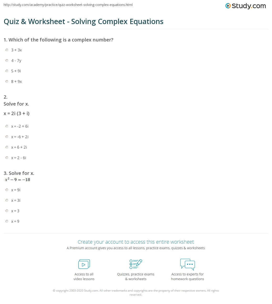 Worksheets Equation Building Worksheets Cheatslist Free
