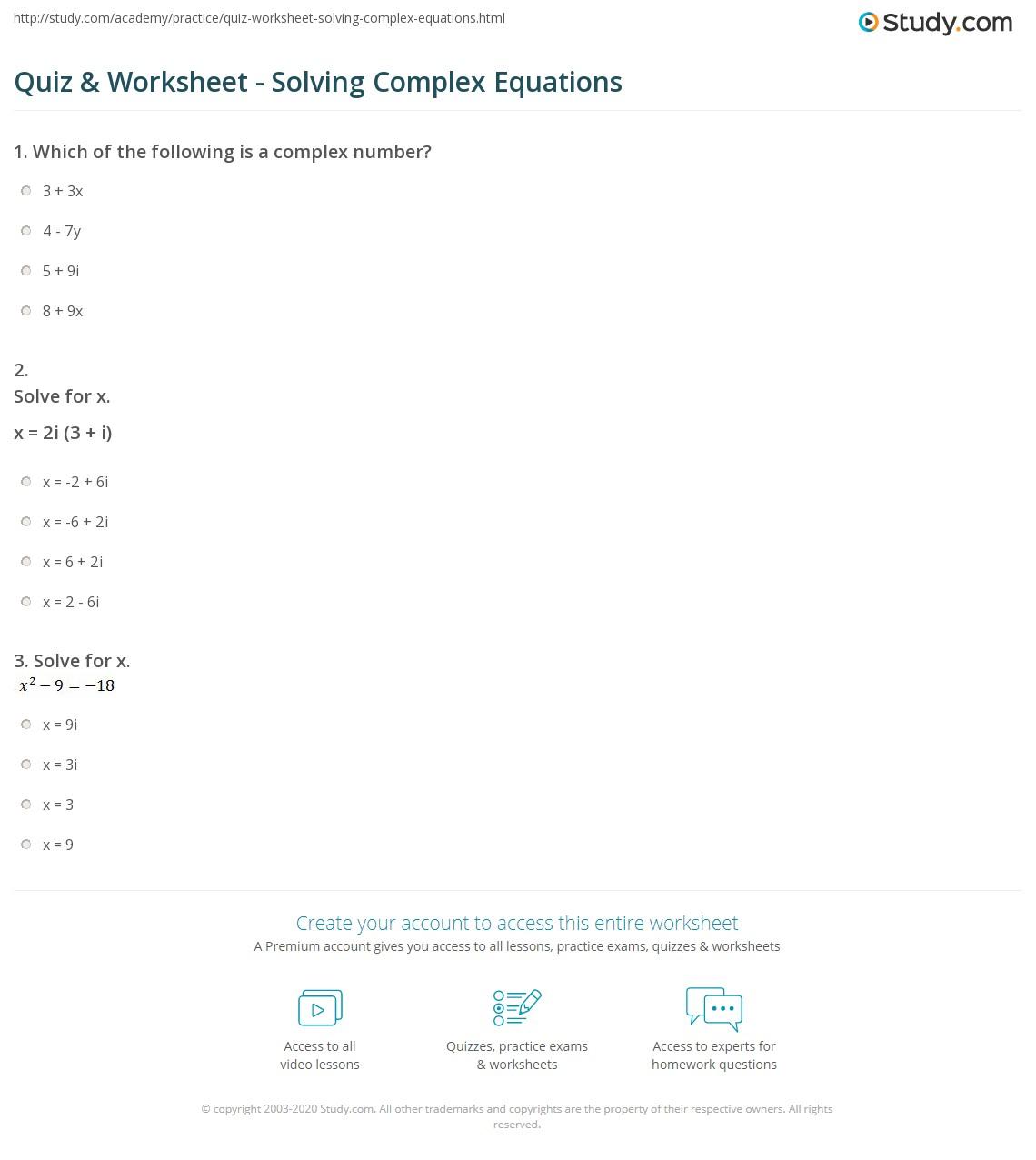 Worksheets Equation Building Worksheets Cheatslist Free Worksheets For Kids Amp Printable