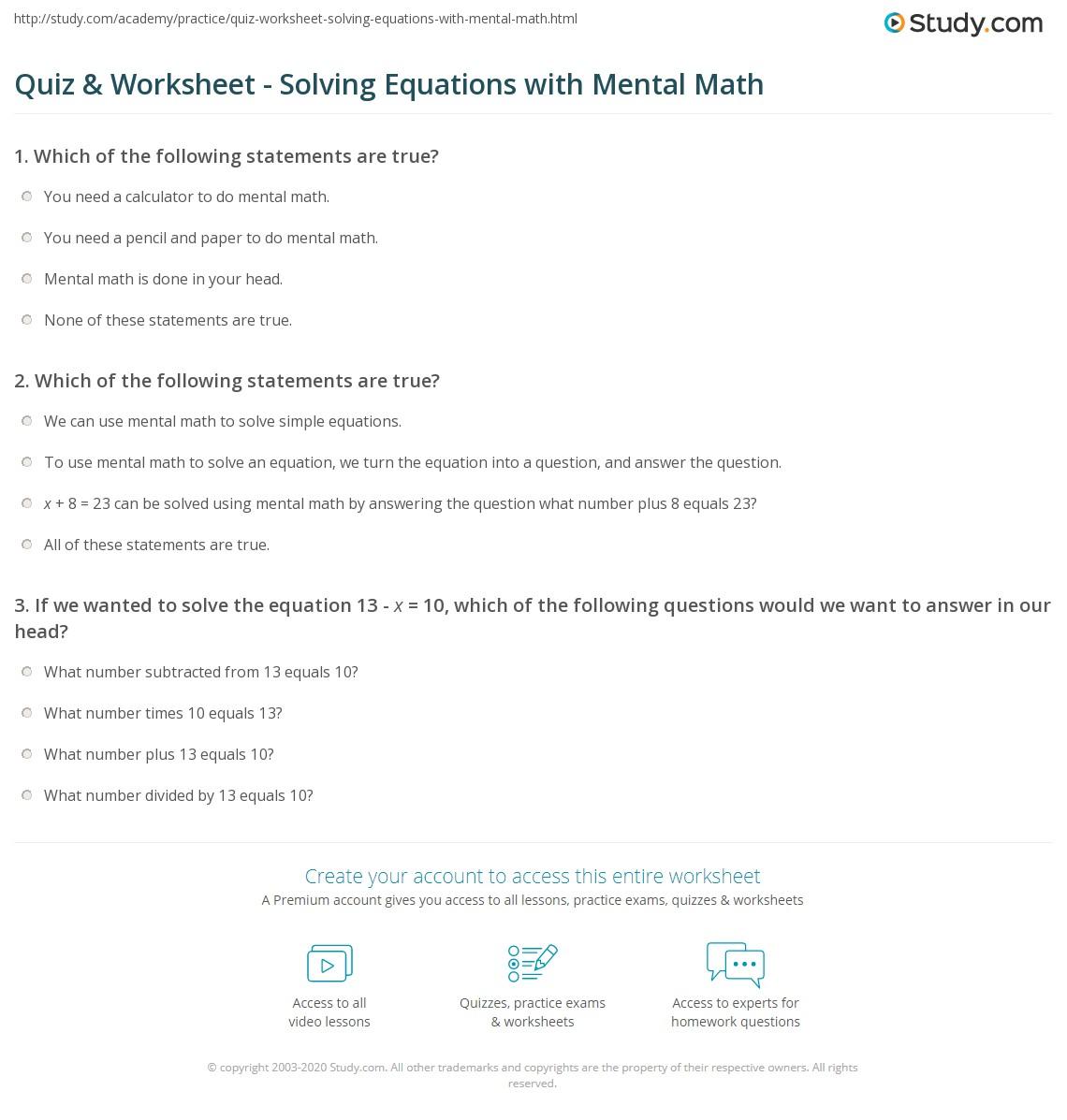 Math Equations That Equal 23