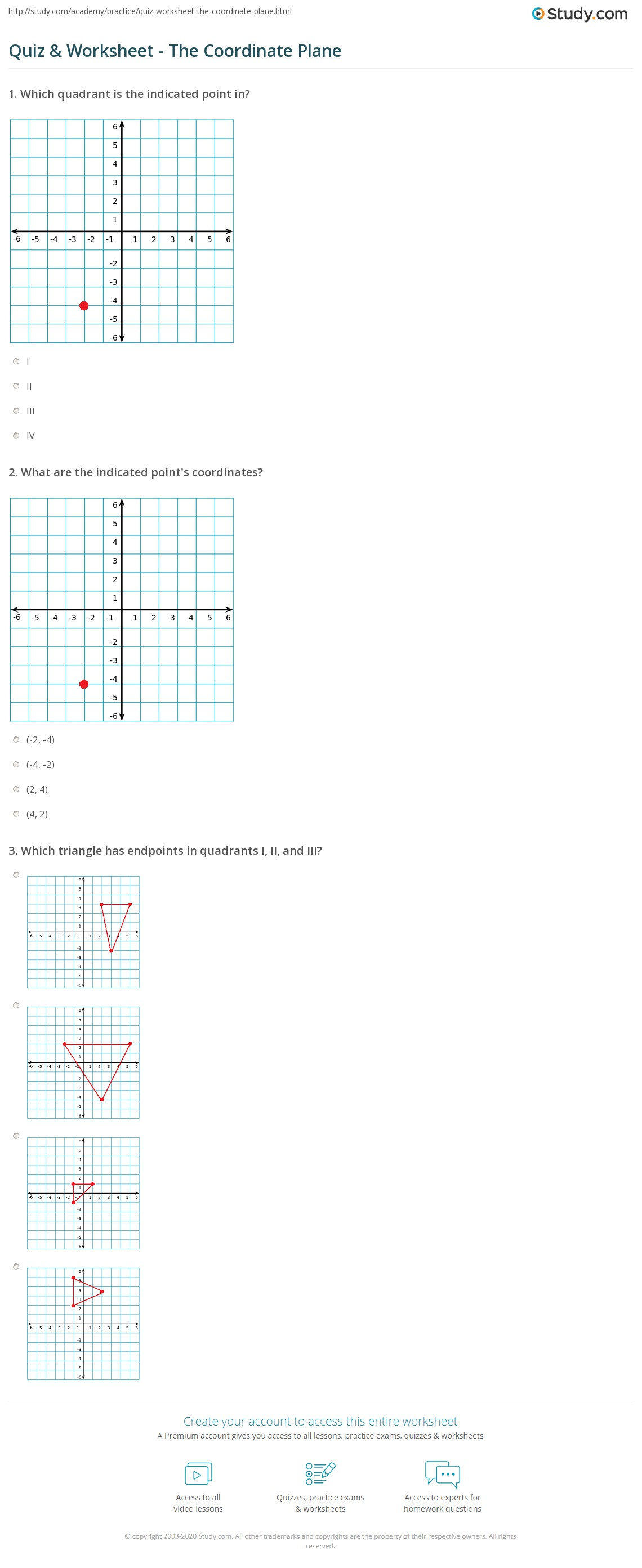 Printable Graph Paper With Coordinates
