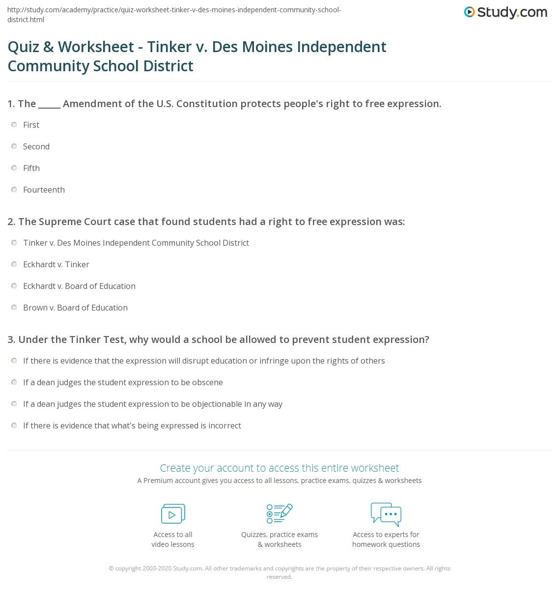 Quiz W Ksheet T Ker V Des Mo Es Dependent Munity