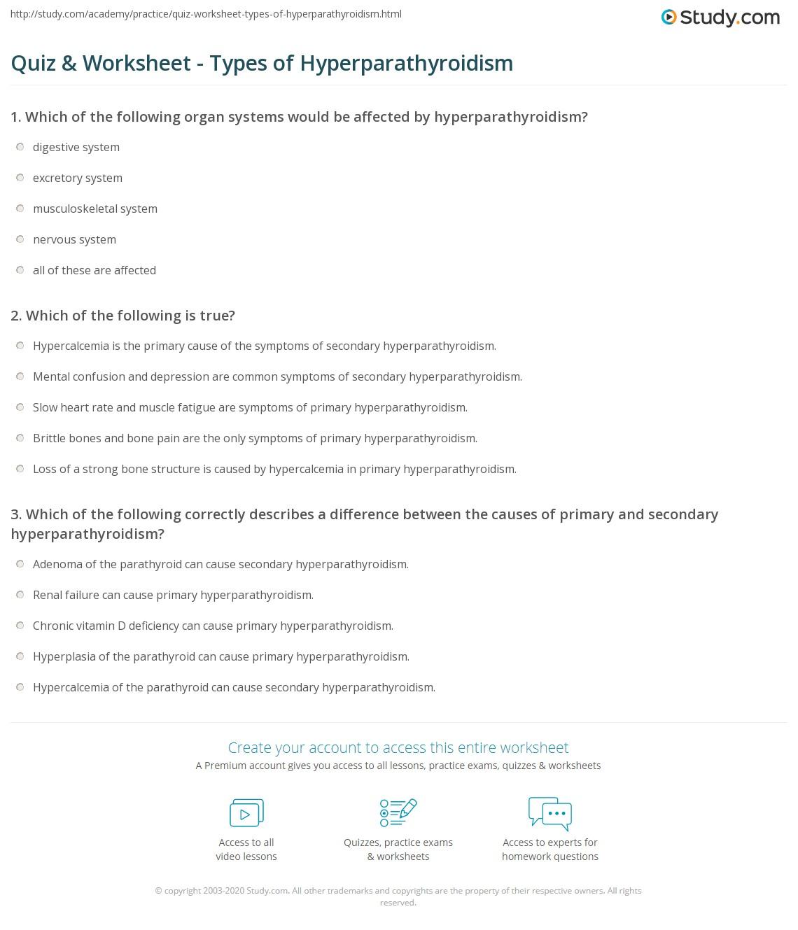 Ag Careers Worksheet