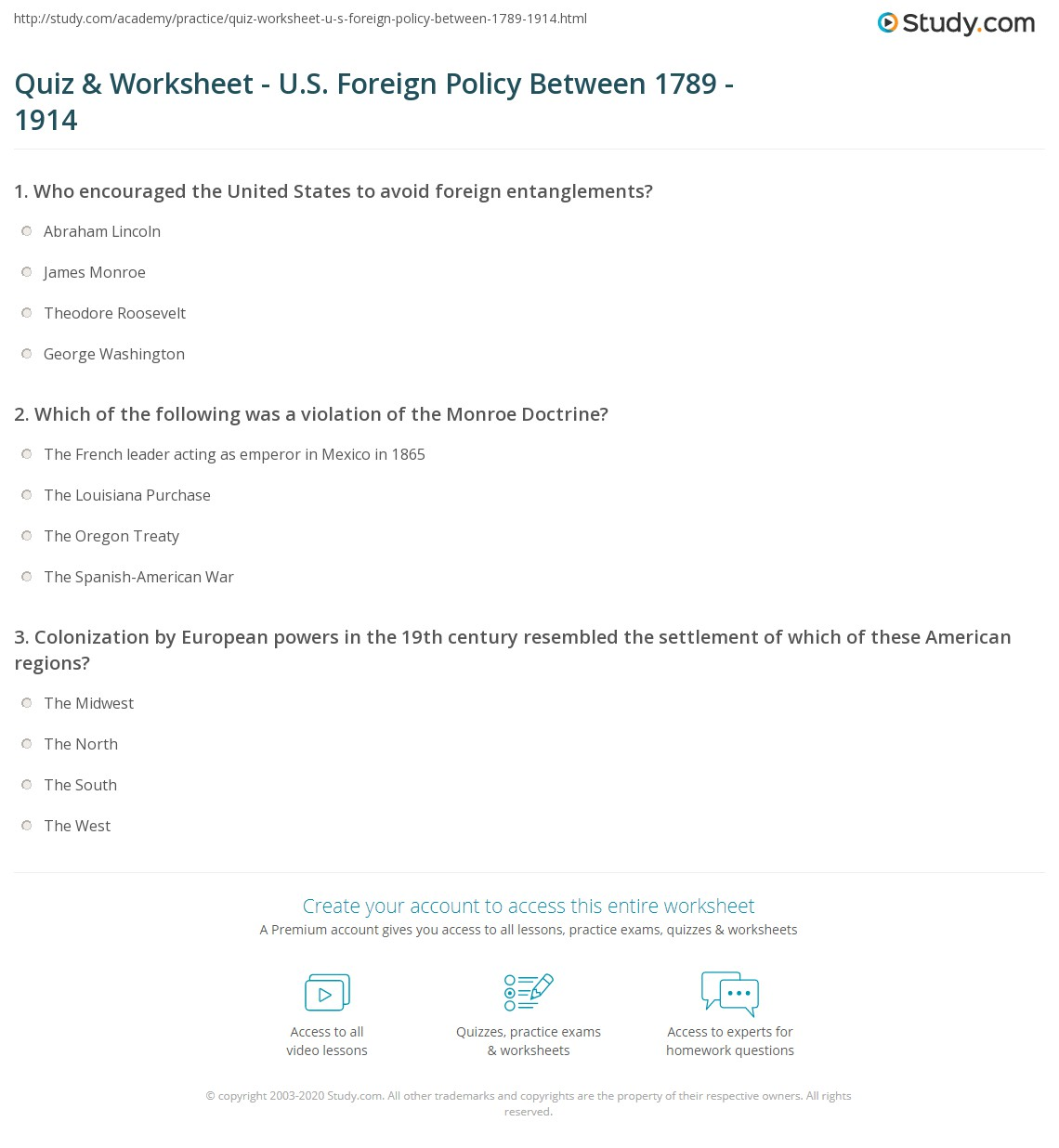 Worksheet Monroe Doctrine Worksheet Grass Fedjp