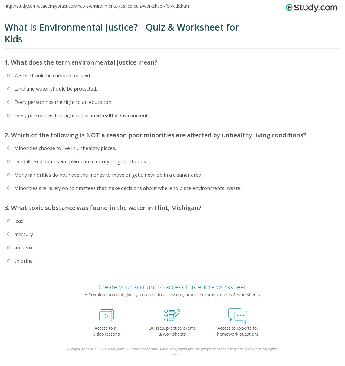 What Is Environmental Justice