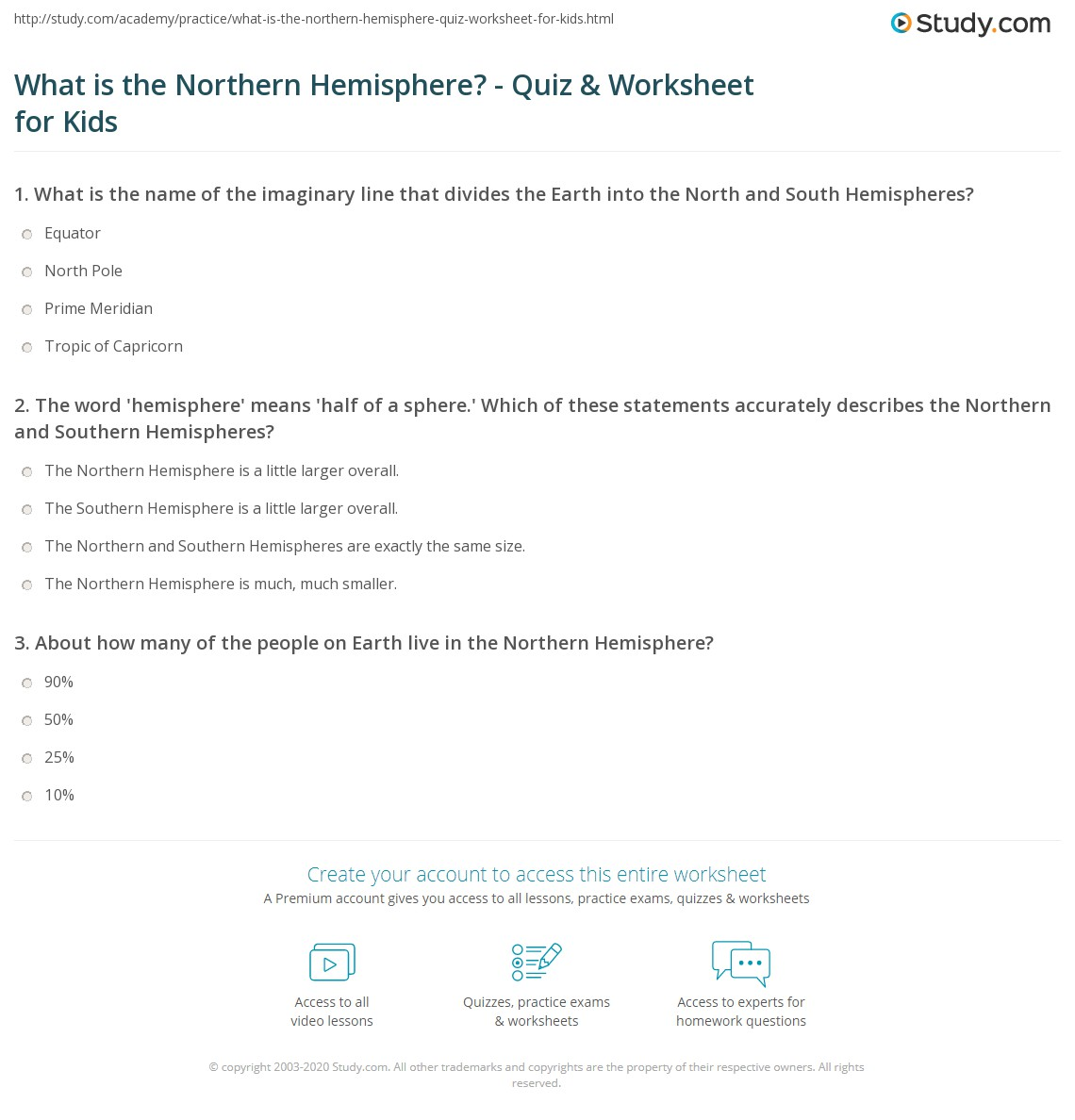 What Is The Northern Hemisphere