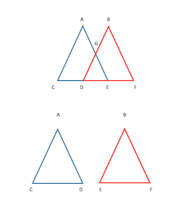 Overlapping Triangles Definition Amp Examples