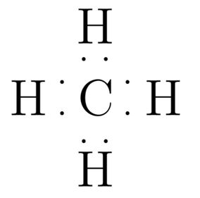 What is the Lewis structure of methane? | Study