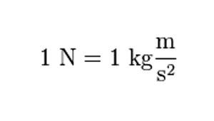 newtonsss - Newton (N) – Definición y ejemplos