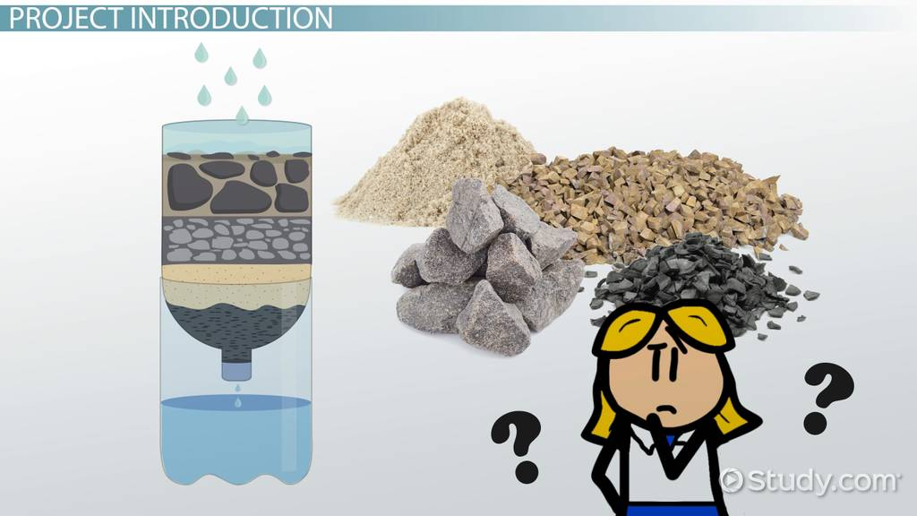 Water Filtration Science Project Video Amp Lesson