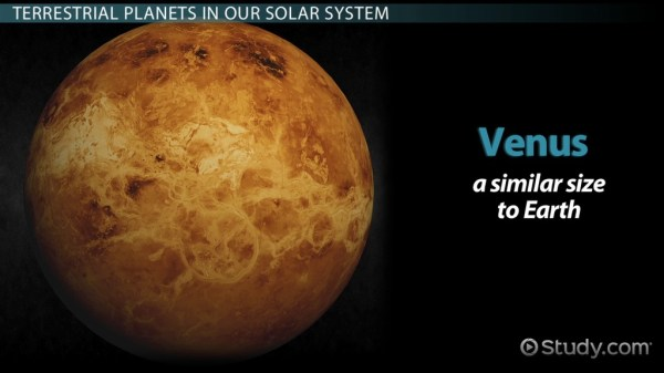 Terrestrial Planets Definition Characteristics Video