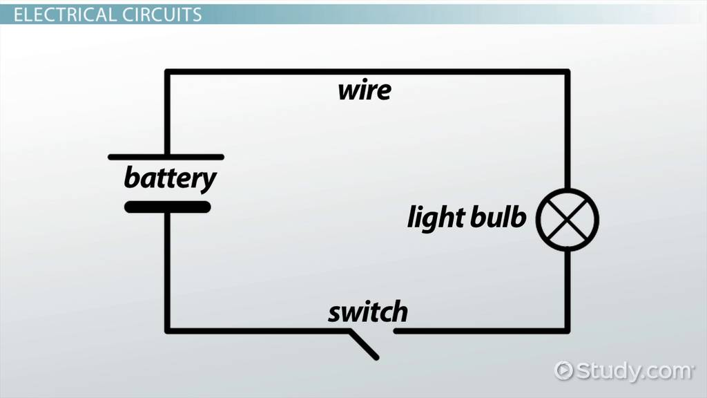 Electric Circuit Diagrams: Lesson For Kids