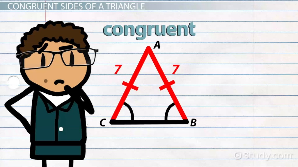 Congruent Sides Of A Triangle Definition Amp Overview