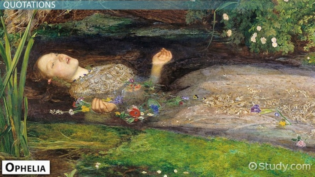 Shakespeare S Ophelia Character Amp Quotes