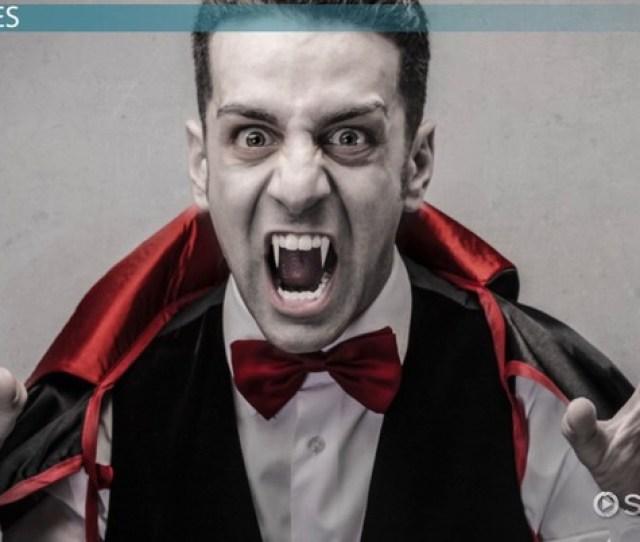 Dracula Character List Analysis