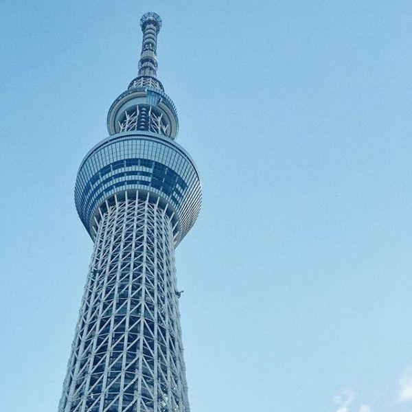 Blue#tokyo #skytree #iphone7plus #snapseed