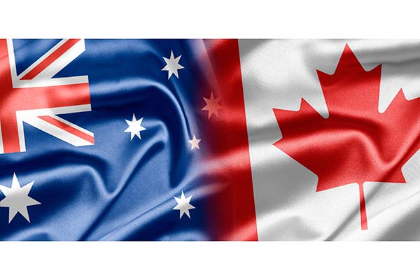 Country Comparison: Canada vs. Australia