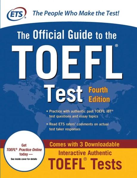 Best book for TOEFL