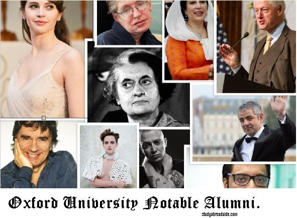 Oxford University Notable Alumni