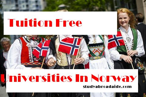 Tuition Free Universities Norway