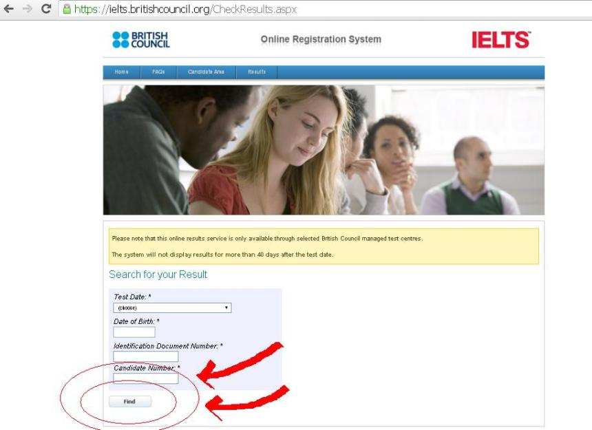 How to check IELTS results online