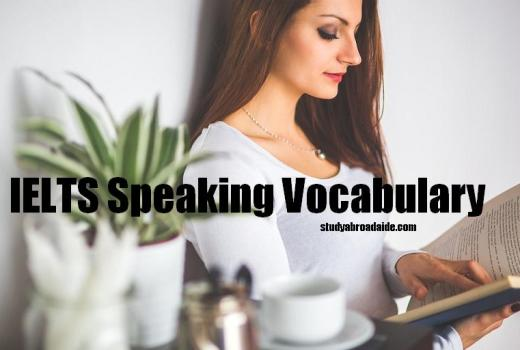IELTS Speaking Vocabulary