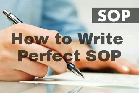 How to write Statement of Purpose